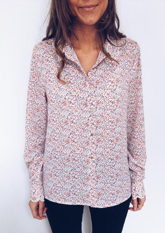 Flowery Shirt Giulia
