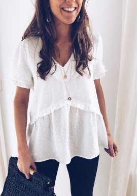 White Blouse Lauriane