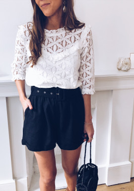 White Blouse Capucine