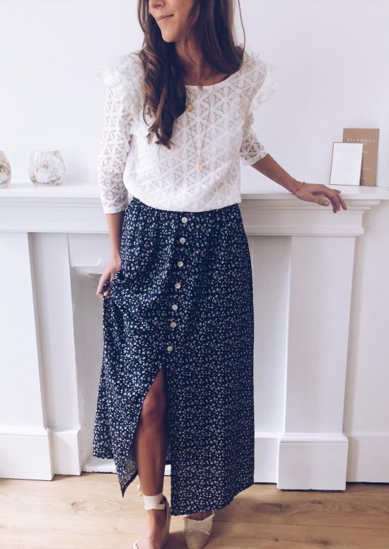 Dark blue Skirt Alicia
