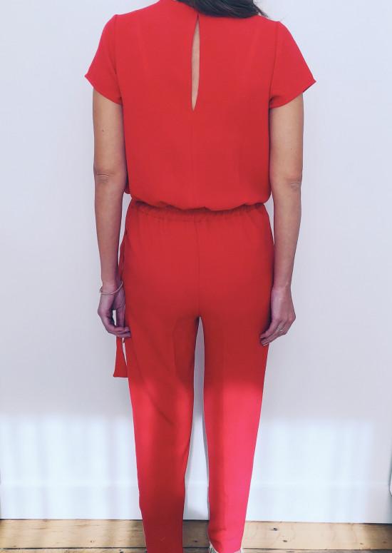 Combinaison Ruby rouge