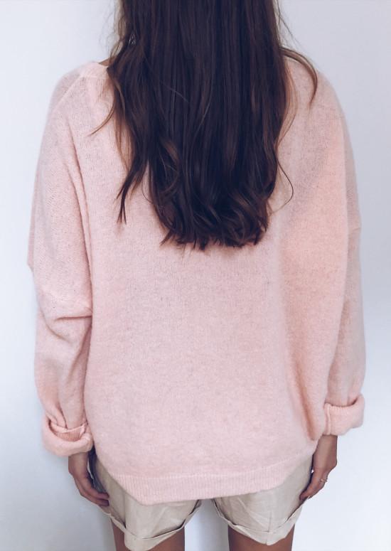 Light pink Pullover Oscar