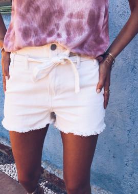 White jeans short Constance