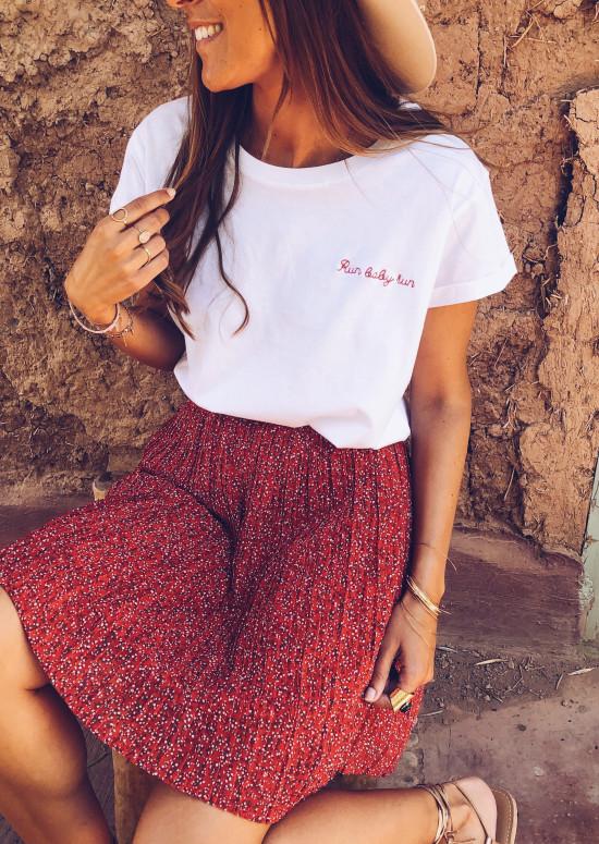 Red Charlie skirt