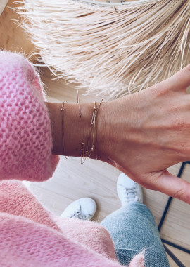 Golden bracelets Lali