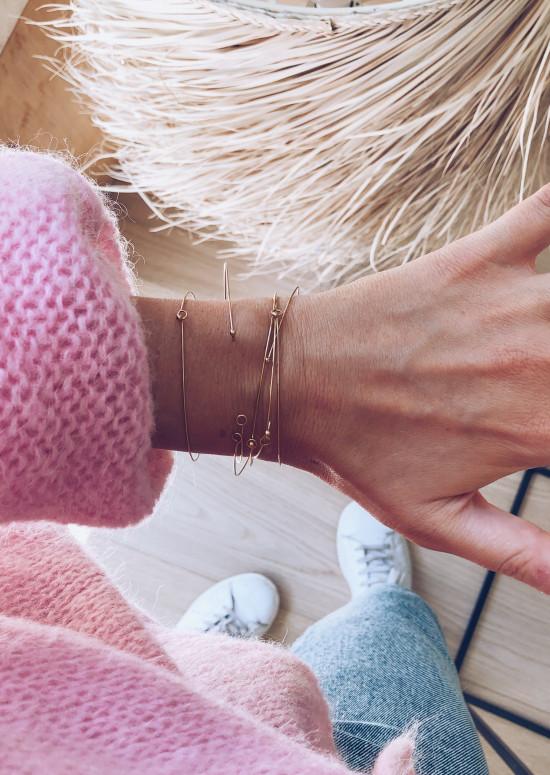 Bracelets Lali doré
