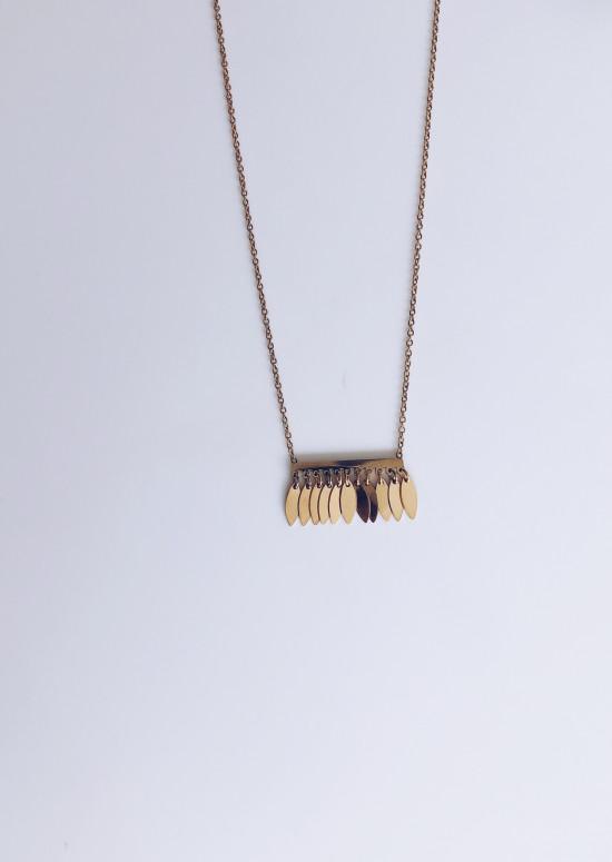 Golden Ilea necklace