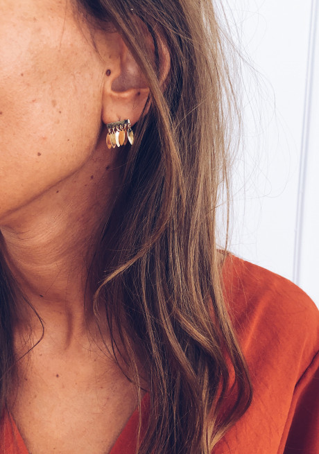 Golden Lidy earrings
