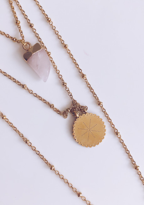 Golden Faith necklace