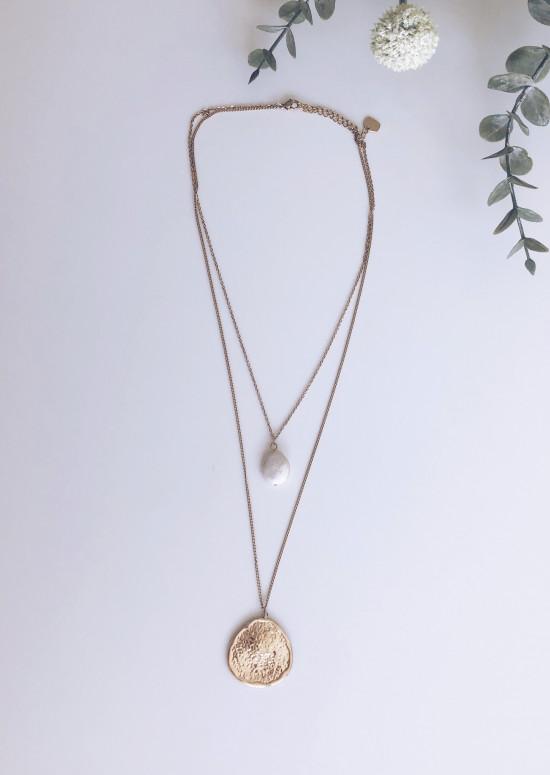 Golden Tila necklace