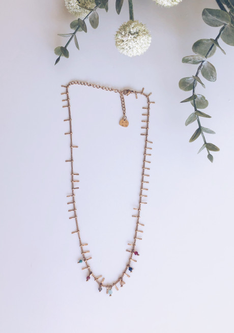 Bolly gold necklace