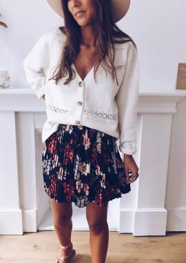 Audre flower skirt