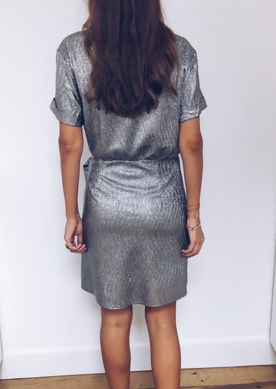 Drex silver dress