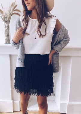 Black Bell Skirt