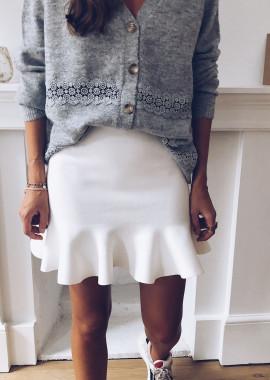 White Amber Skirt