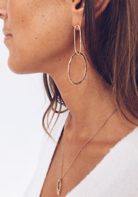 Golden Emi Earrings