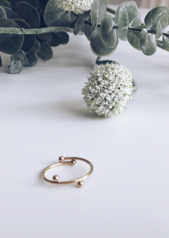 Golden Nino Ring