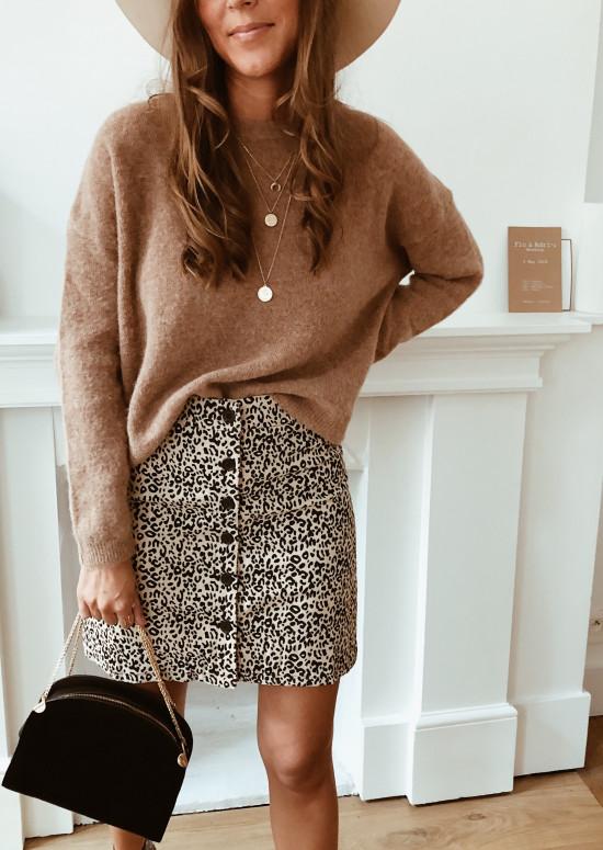 Leopard Sarah skirt