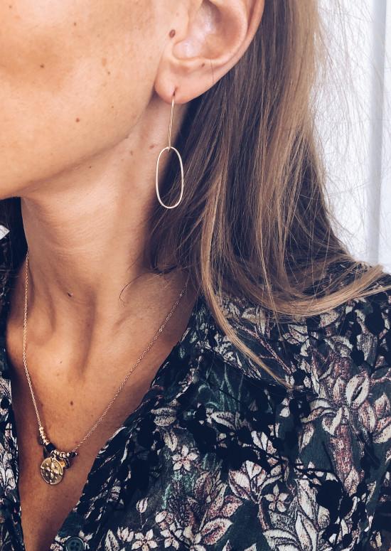 Boucles d'oreilles Amaia dorées