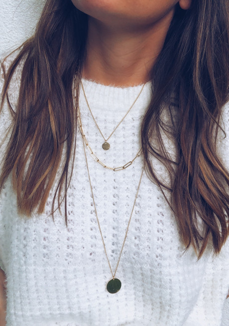 Golden Vio necklace