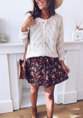 Madison skirt with flowers