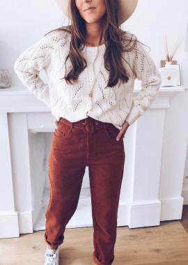 Jersey sweater Nadia beige