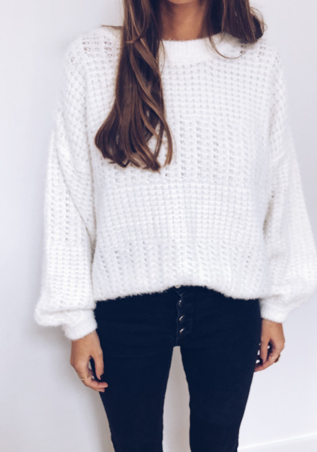 Estelle sweater white