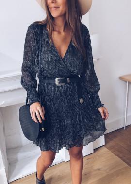 Miranda silver dress