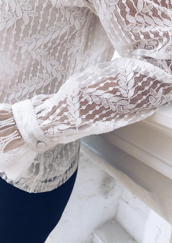 Blouse Arlette blanche