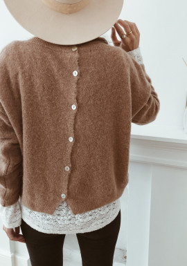 Margaux Camel Sweater