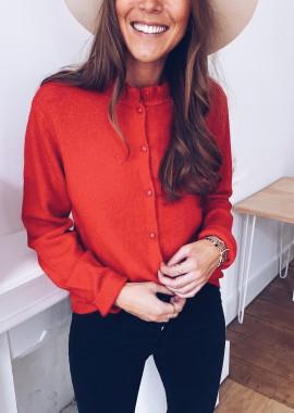 Red Clara sweater
