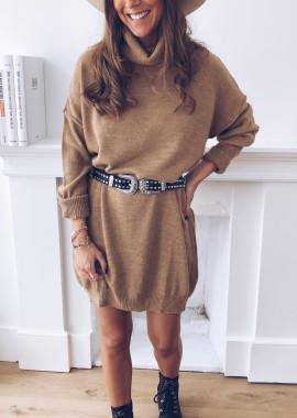 Karly camel dress