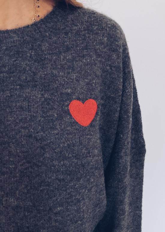 Dark grey Olivia sweater