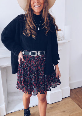 Livie skirt with flowers