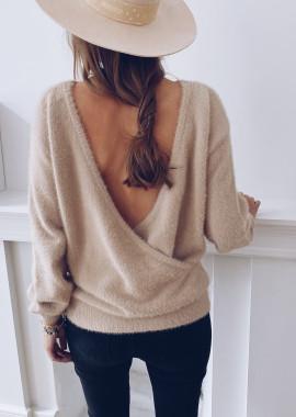 Mylia beige sweater