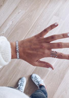 Karen silver ring