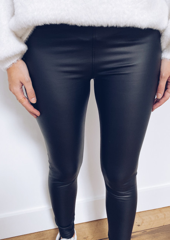 Richard leather effect legging