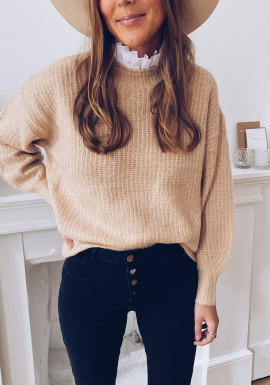 Lucie beige sweater