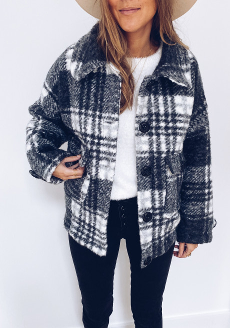 Fred Checked coat