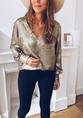 Golden Laurie blouse