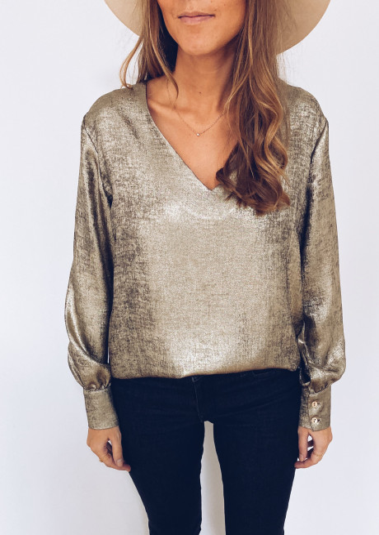 Golden Laurie blouse