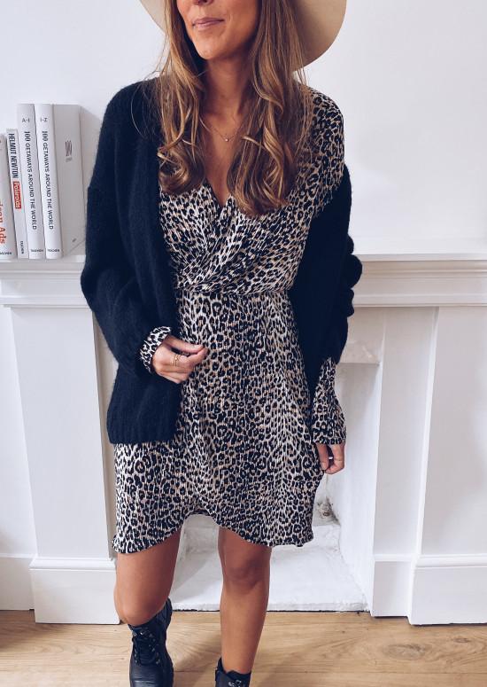 Edda leopard dress