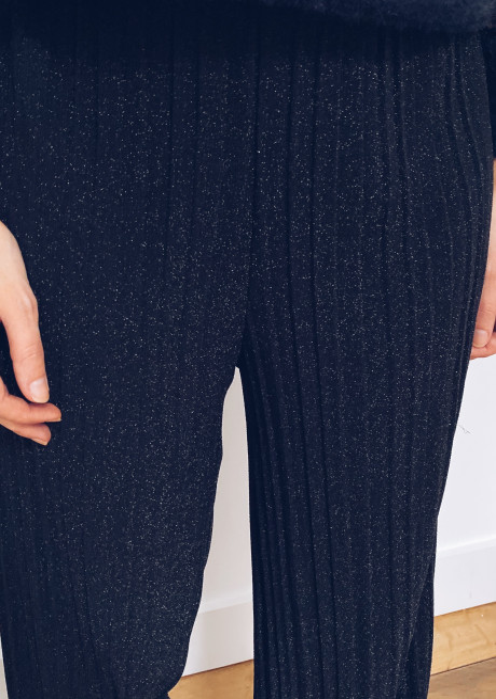 Black chuck pants