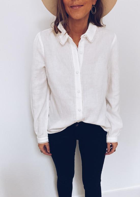 White Florine shirt
