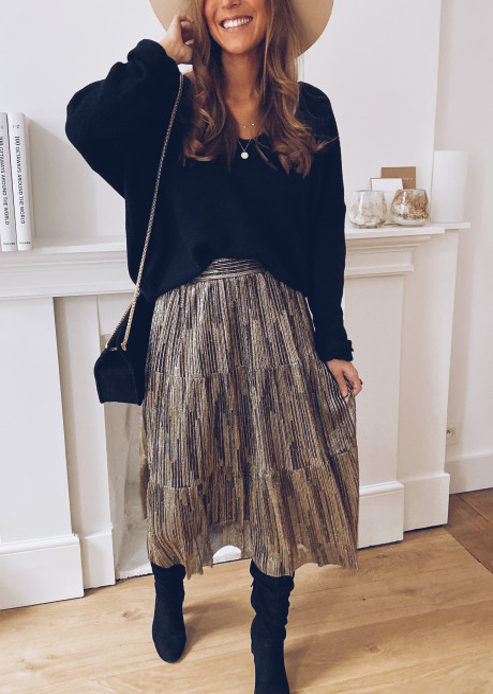 Golden Gloria skirt