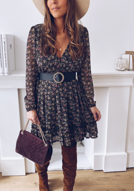Coletta dress with flowers