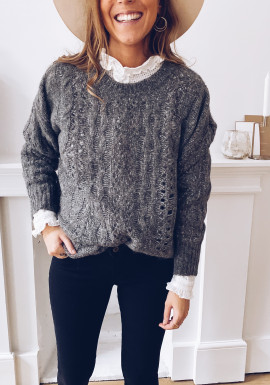Dark gray Paloma sweater