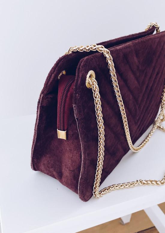 Plum Matéo bag 100% leather