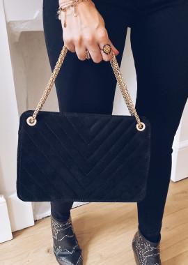 Matéo bag black 100% leather