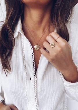 Golden Darel necklace